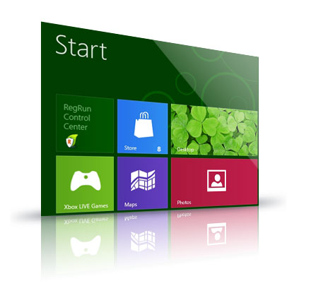 RegRun Windows 8 Start
